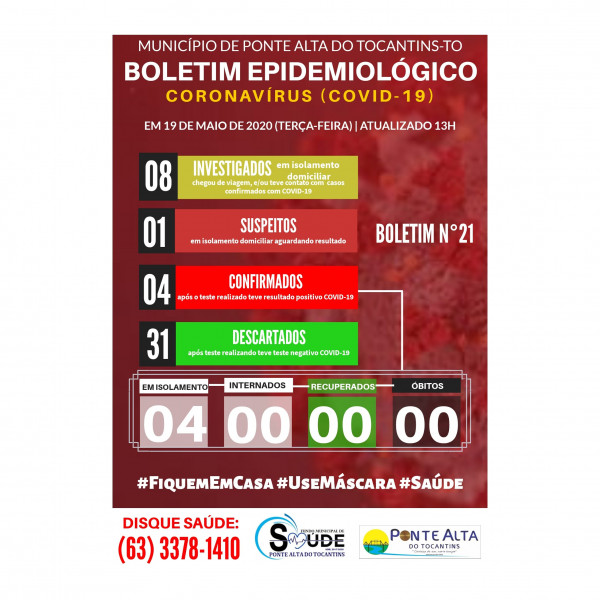 Boletim Epidemiológico Municipal n°21