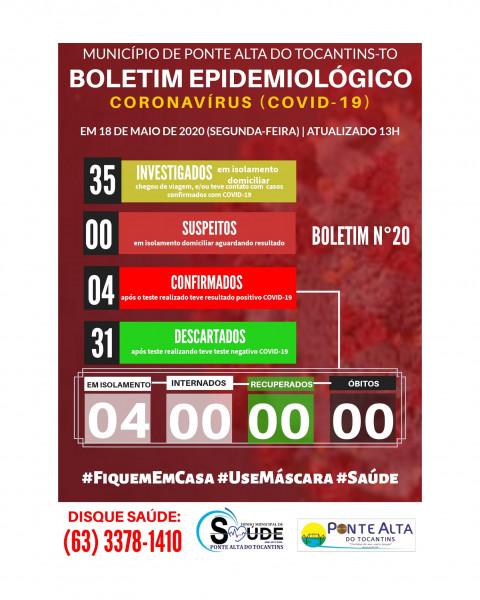 Boletim Epidemiológico Municipal n°20