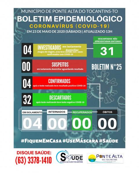 Boletim Epidemiológico Municipal n°25