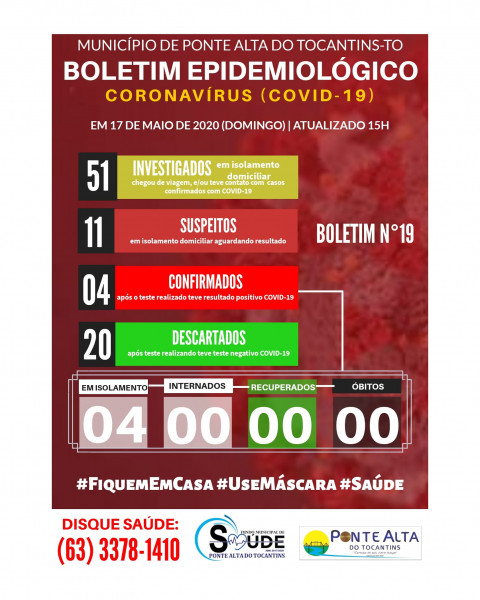 Boletim Epidemiológico Municipal n°19