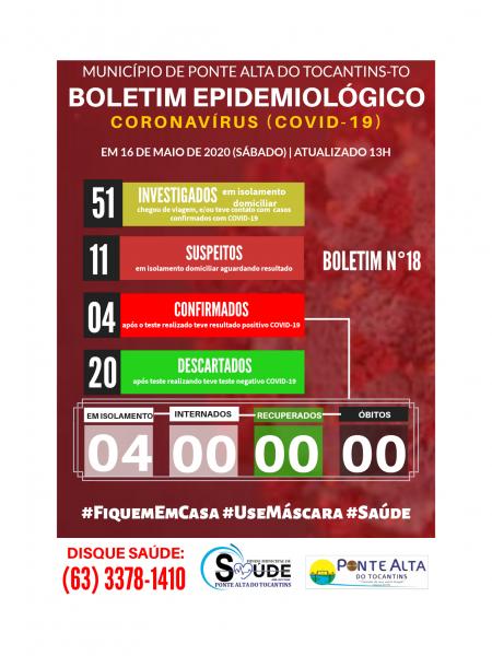 Boletim Epidemiológico Municipal n° 18