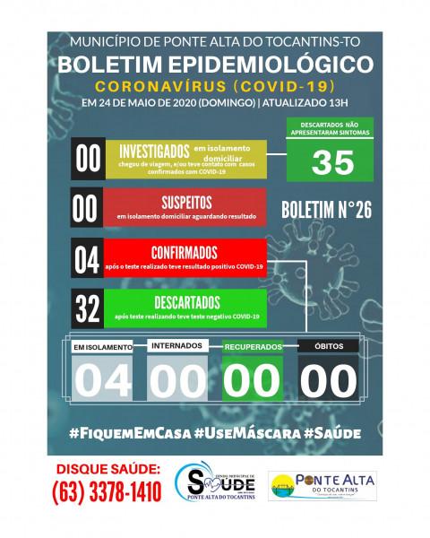 Boletim Epidemiológico Municipal n°26