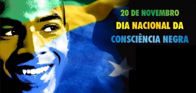 Dia Nacional da Consciência Negra é celebrado, no Brasil, em 20 de novembro