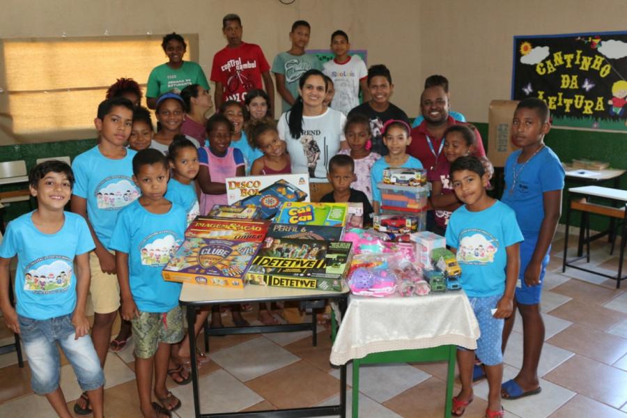 CRAS realiza compra de brinquedos para atender crianças