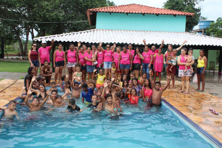 Confraternidade com beneficiários beneficiários dos programas PAIF e Criança Feliz